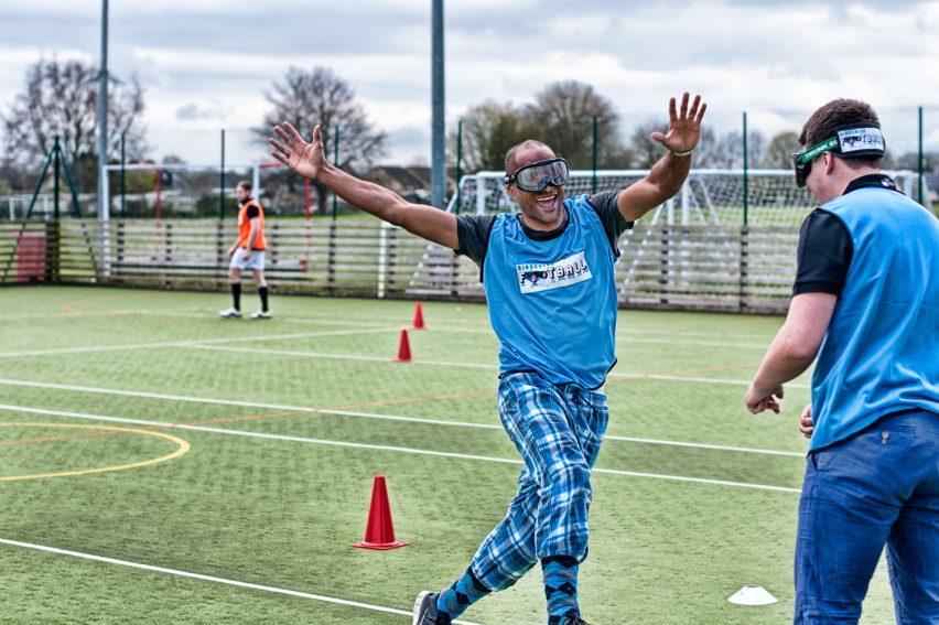 Goggle Football Amsterdam